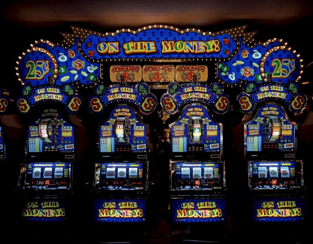 Slot games, online casino